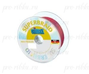 Плетёный шнур Climax Superbraid multicolor (многоцветный) 100 м 0,20 мм 15,0 кг (плавающий)