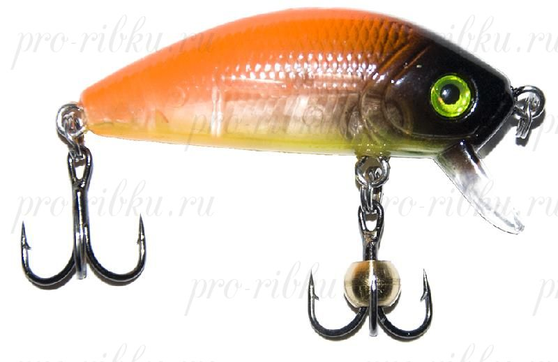 "Воблер PROFILUX ""Real Minnow 44"", S, 44мм, 3,8гр, 0,4-1,8 м, №12"