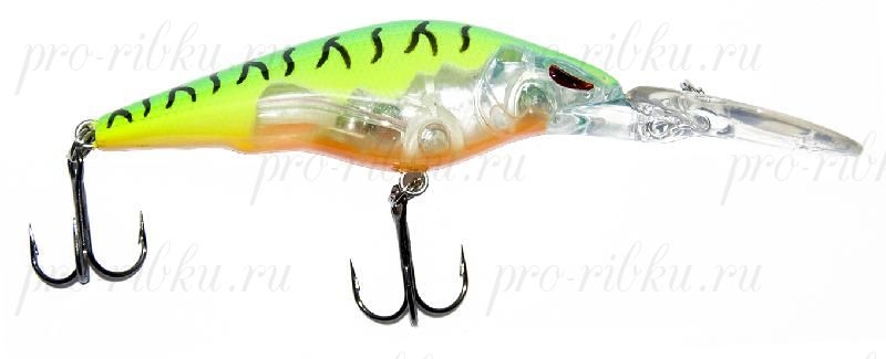 Воблер RUBICON CORE-MINNOW F, 60mm, 6.7gr, depth 0-1.8m, F1239