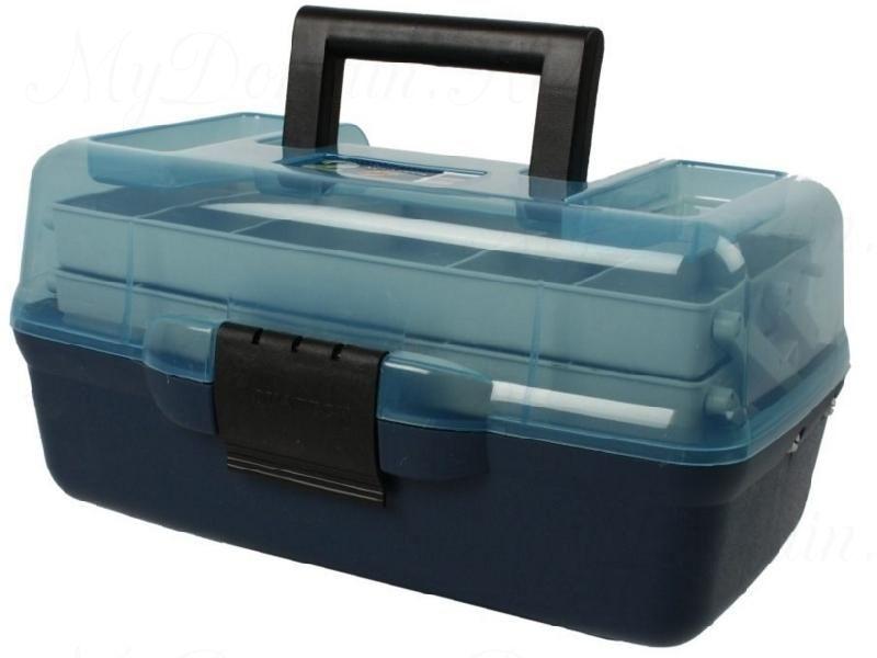 Ящик AQUATECH 2-полочный (прозрачная крышка)