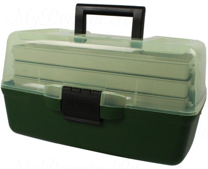 Ящик AQUATECH 3-полочный (прозрачная крышка)