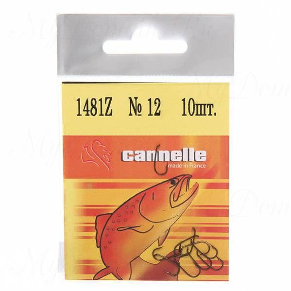 Крючок Cannelle 1481 Z № 16 уп. 10 шт. (бронза, среднее цевье, тонкая проволка, кованный, мушечный)
