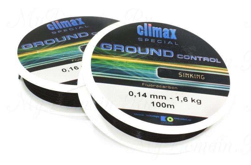 Леска Climax Special ground control (черная) 100м 0,14мм 1,6 кг (тонущая)
