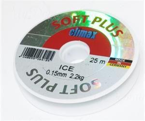 Леска Climax Soft Plus Ice 0,15 мм 25 м 2,20 кг уп. 10 шт. (голубая)