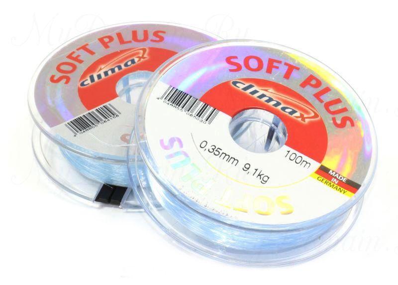 Леска Climax Soft Plus (голубая) 100 м 0,40 мм 11,5 кг уп. 10 шт.