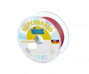 Плетёный шнур Climax Superbraid multicolor (многоцветный) 100 м 0,14 мм 9 кг (плавающий)