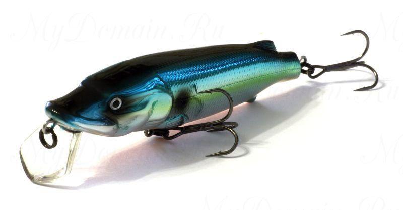 Воблер ASAKURA PIKE 11 SR-F 672-цвет, 10,5 см., 18,8 гр, заглубление м.,
