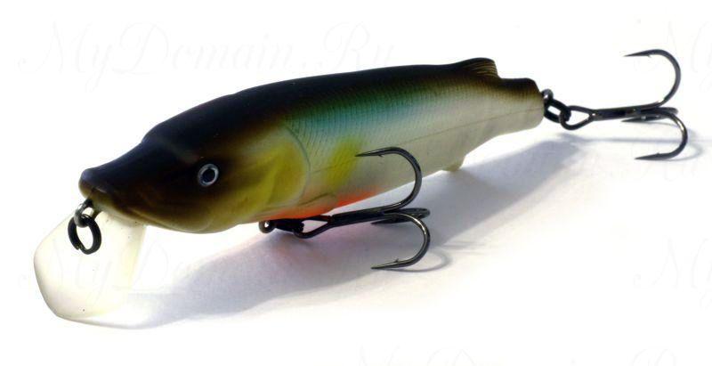 Воблер ASAKURA PIKE 11 SR-F 800-цвет, 10,5 см., 18,8 гр, заглубление м.