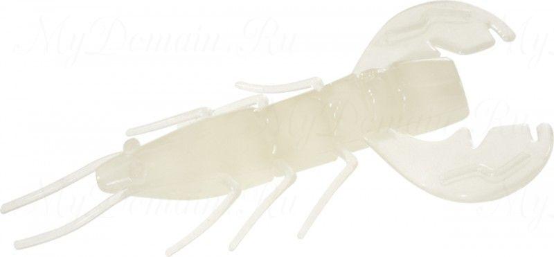 Рачок MISTER TWISTER MISTER TWISTER Exude Fan Tail Shrimp 6 см. уп. 15 шт. LS (съедобная, люминесцентный) NEW