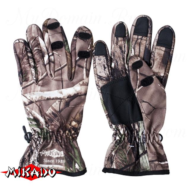 Перчатки рыболовные Mikado UMR-07 размер L, шт