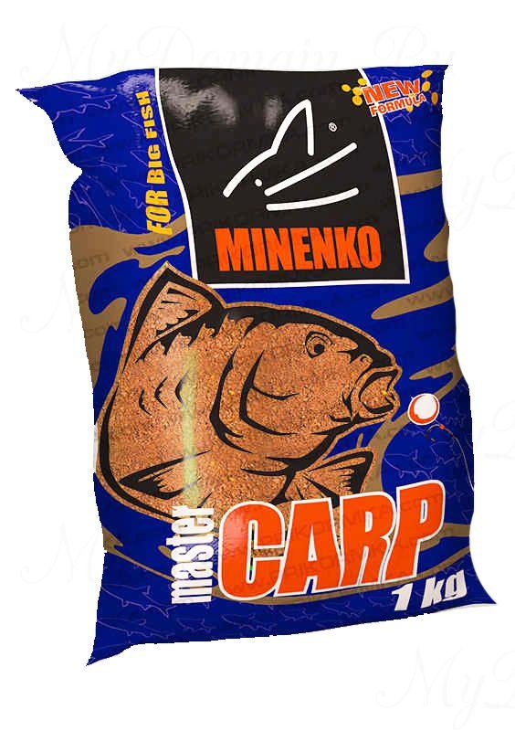 Прикормка МИНЕНКО Master Carp Клюква, вес 1 кг