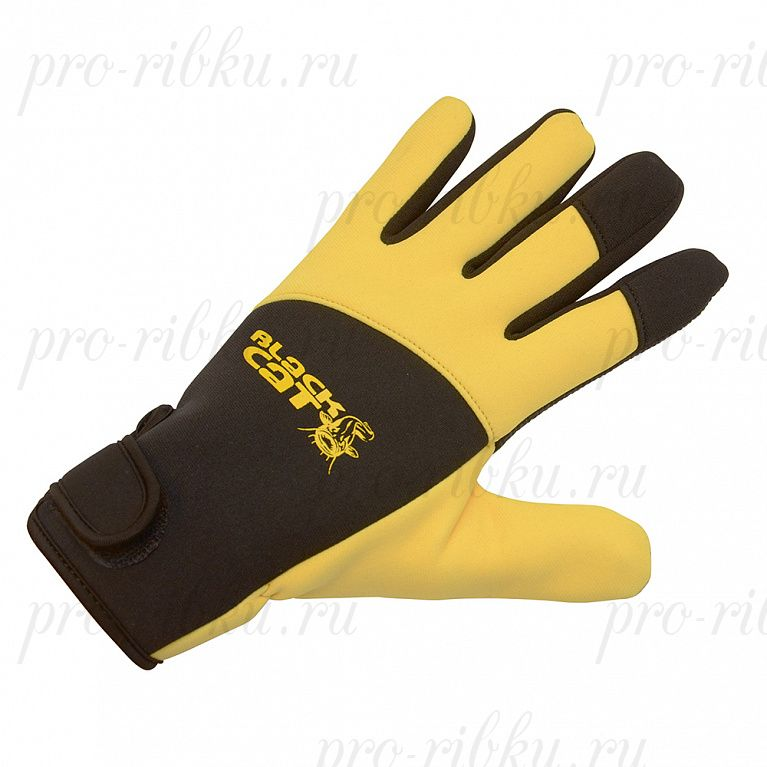 Перчатки неопрен Black Cat Deluxe размер L